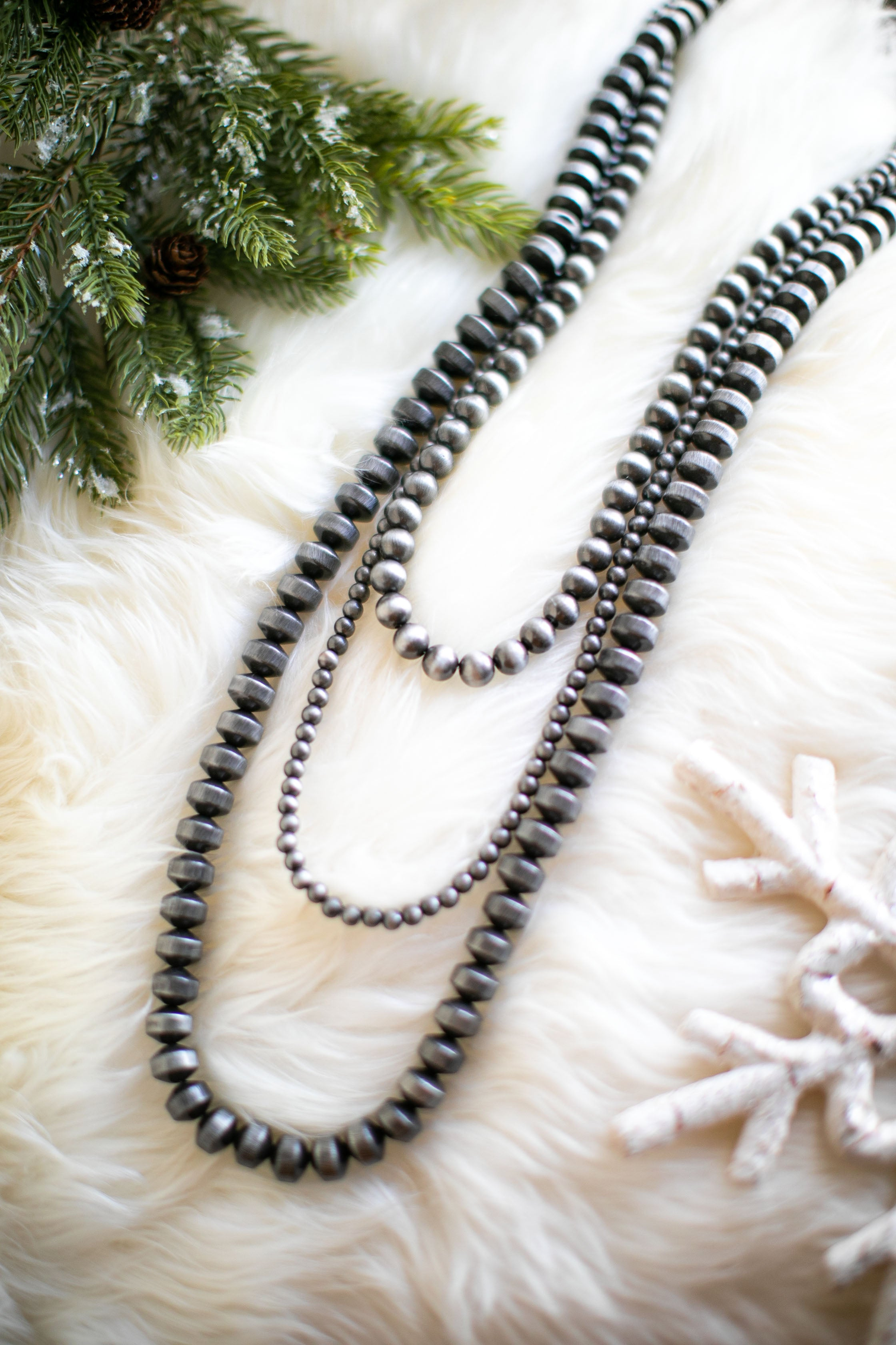 Dakota Three Strand Necklace