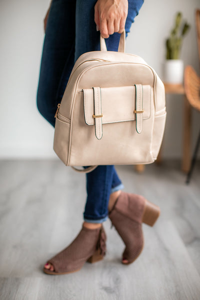 Day Trip Backpack (Cream)