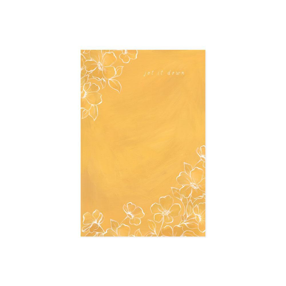 Golden Poppy Notepad