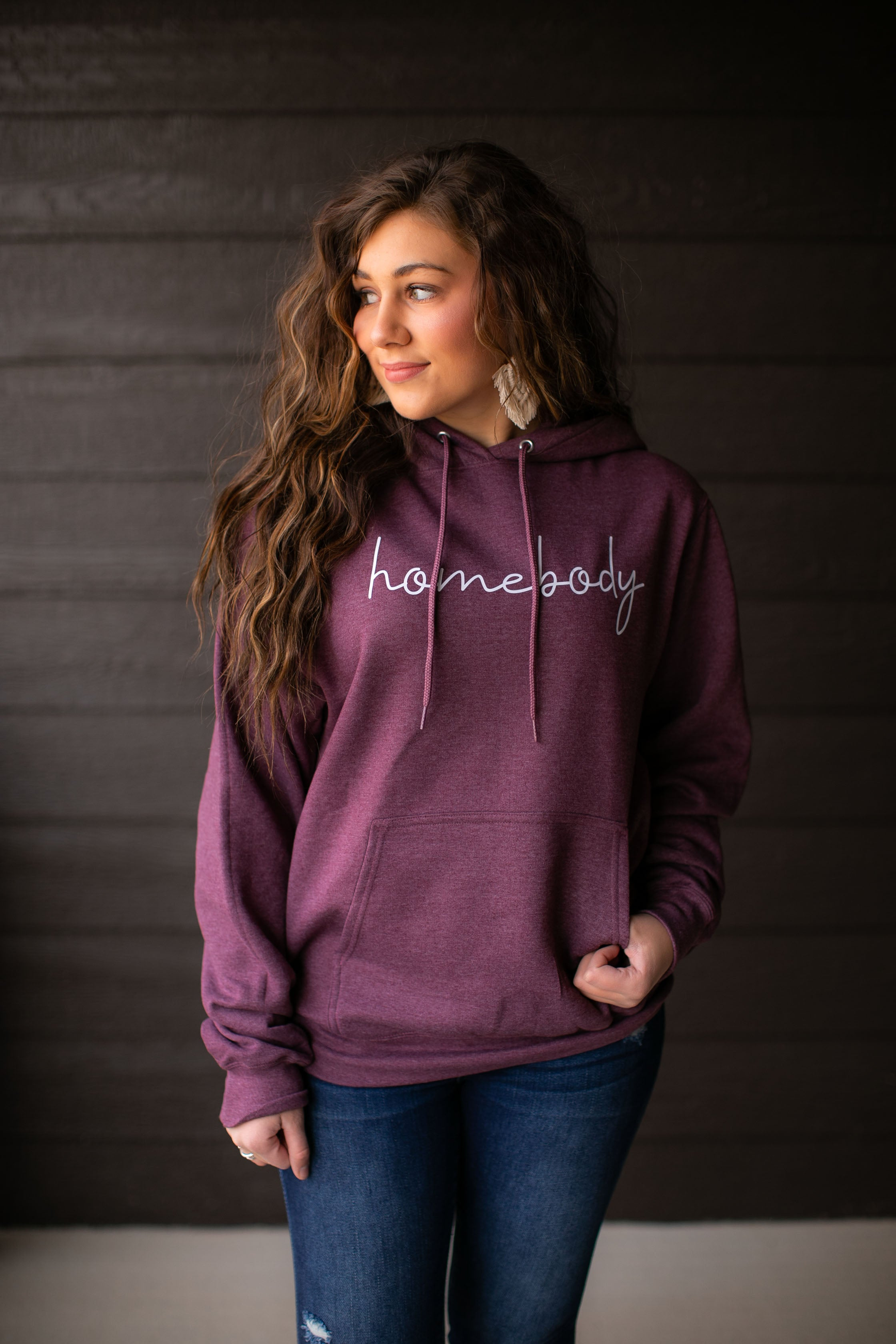 Homebody Graphic Hoodie