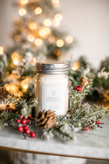 Homemade  Gingerbread Mason 16oz Mason Jar Candle
