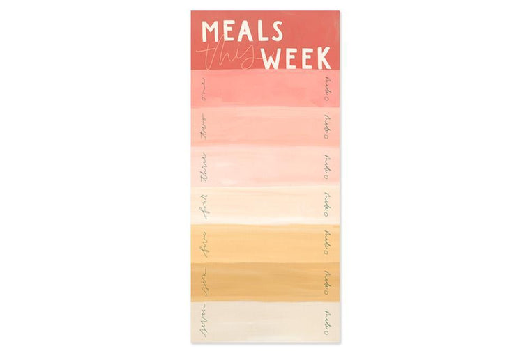 Meals This Week Notepad