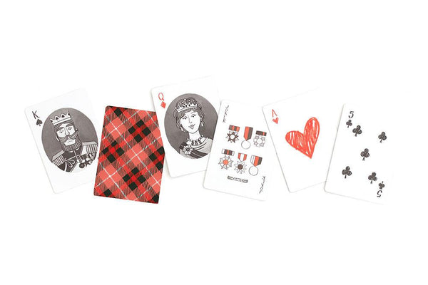 Plaid Playing Cards