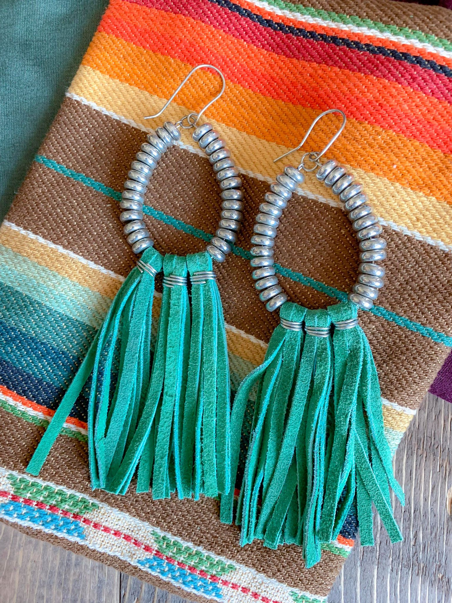 Rio Grande Earrings (Mint)