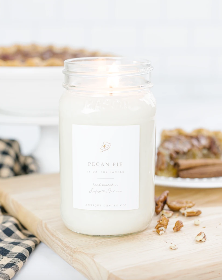 Pecan Pie 16oz Mason Jar Candle