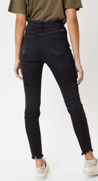 KanCan High Rise Faded Black Skinny (Indy)