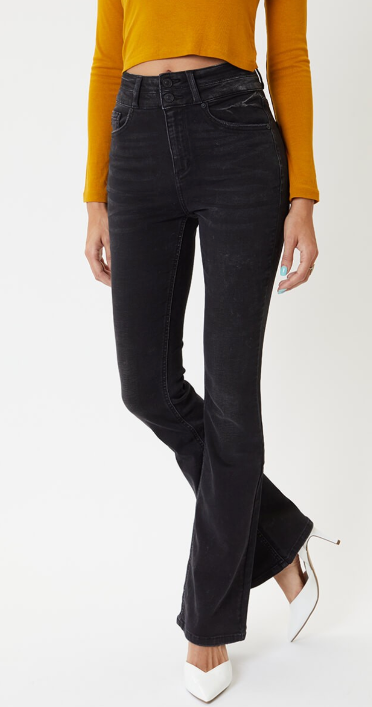 KanCan High Rise Boot Cut Denim (Monica)