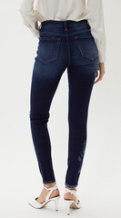 KanCan High Rise Distressed Skinny (Jane)