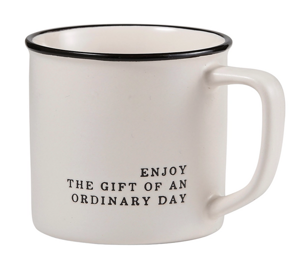Enjoy The Gift Coffee Mug