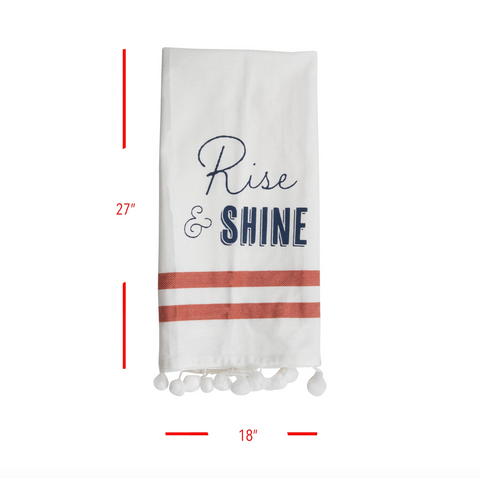 Rise & Shine Tea Towel