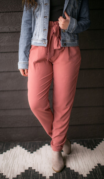Style This Way Pants (Teracotta)