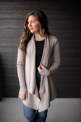 Thrill Of Hope Cardigan (Oatmeal)