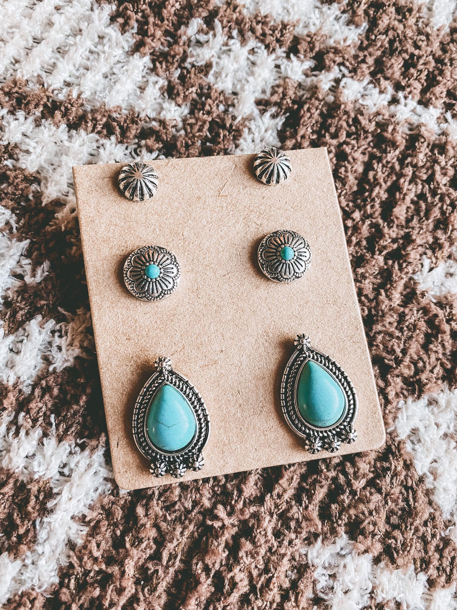 Trio Earring Set (Montana)