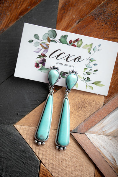 Turquoise Earrings (Amanda)