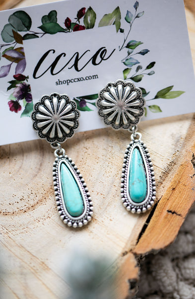 Turquoise Earrings (Calamity)