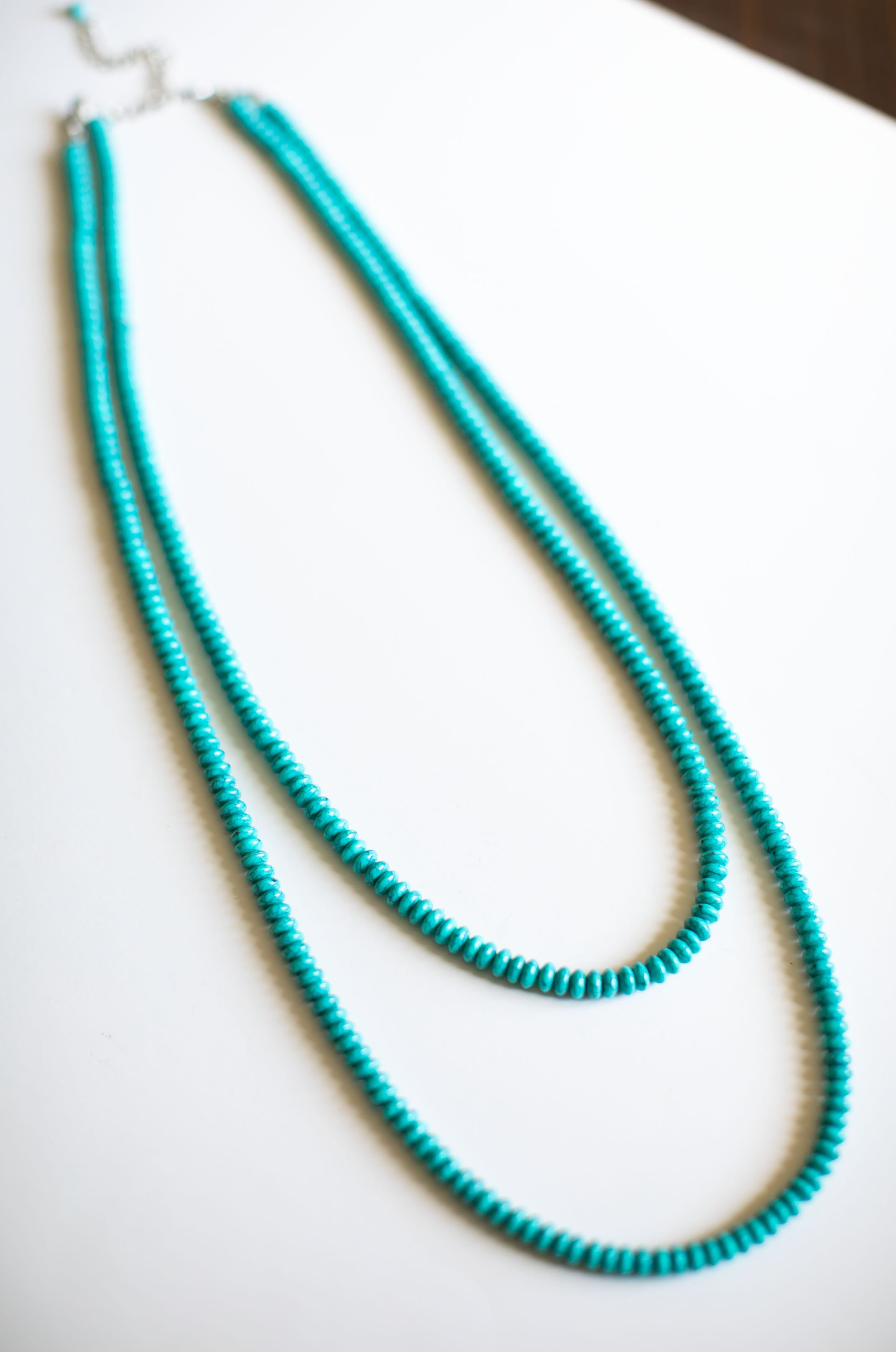 Two Strand Turquoise Necklace
