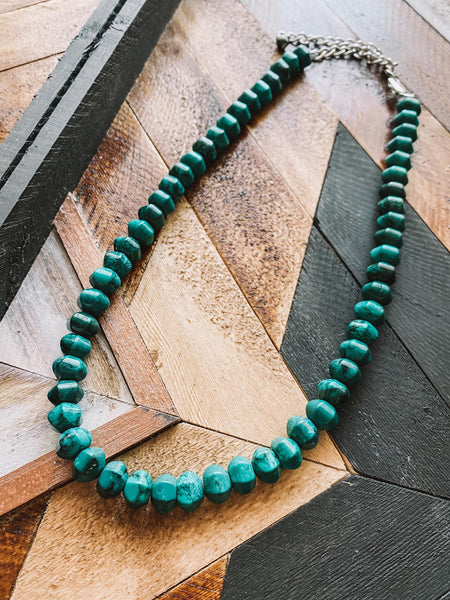 Take Me West Single Strand Necklace