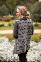 Yellowstone Cardigan (Charcoal)