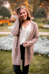 You & Me Together Cardigan (Mocha)