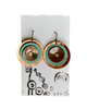 Earrings -- Cindy Cage Triple Discs (2 sizes)
