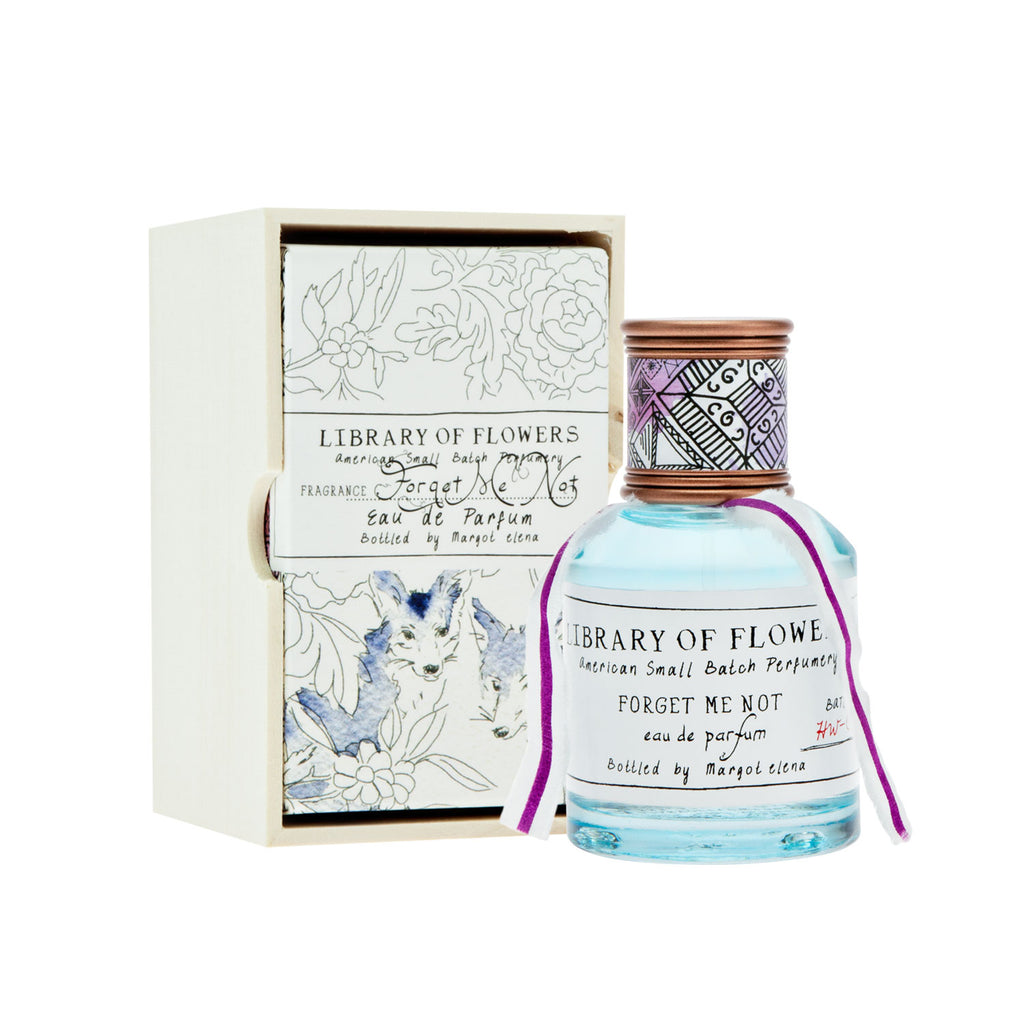 Library of Flowers -- Forget Me Not Perfume