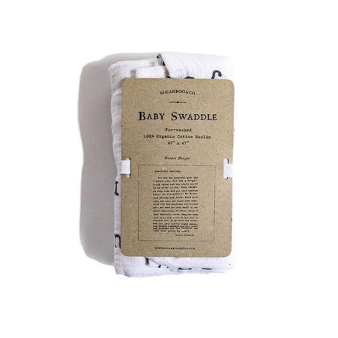 Sugarboo Baby Swaddle -- Letter to Sophie