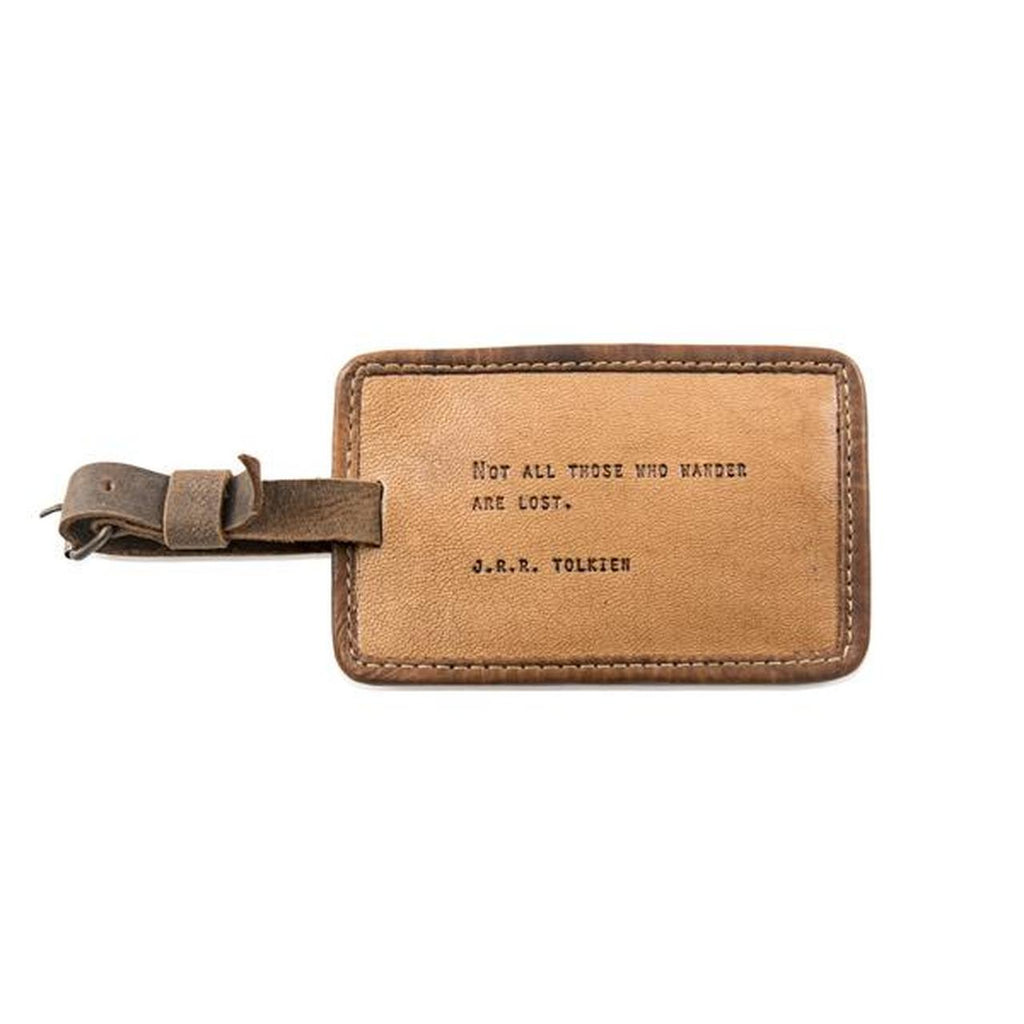 Sugarboo Luggage Tag (various quotes)