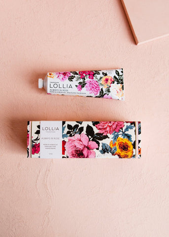 Lollia -- Always in Rose Handcreme