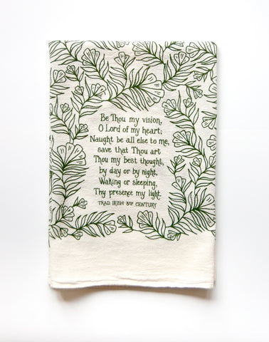 Be Thou My Vision Tea Towel