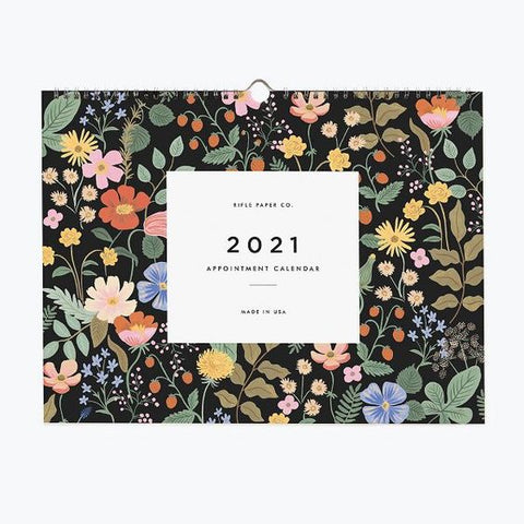 Rifle 2021 Appointment Wall Calendar