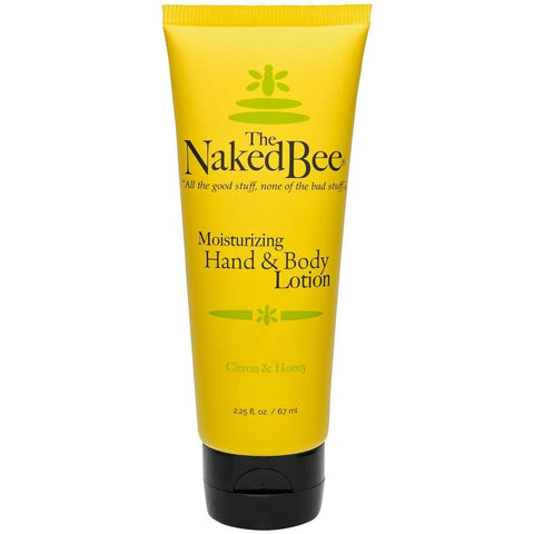 Naked Bee Moisturizing Hand and Body Lotion -- Citron & Honey