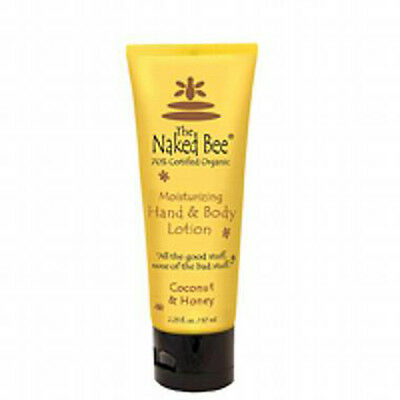 Naked Bee Moisturizing Hand and Body Lotion -- Coconut & Honey