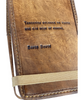 Leather Journal -- David Bowie Quote
