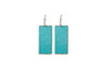 Ella Jude Small Rectangular Earrings (various colors)