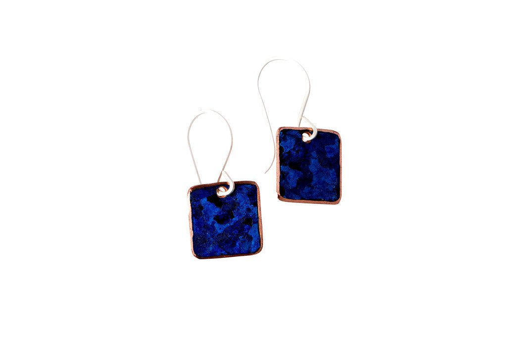 Ella Jude Small Square Earrings (various colors)