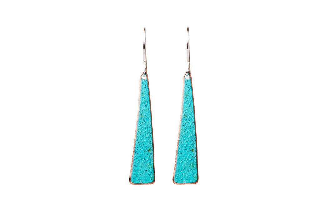 Ella Jude Triangle Earrings