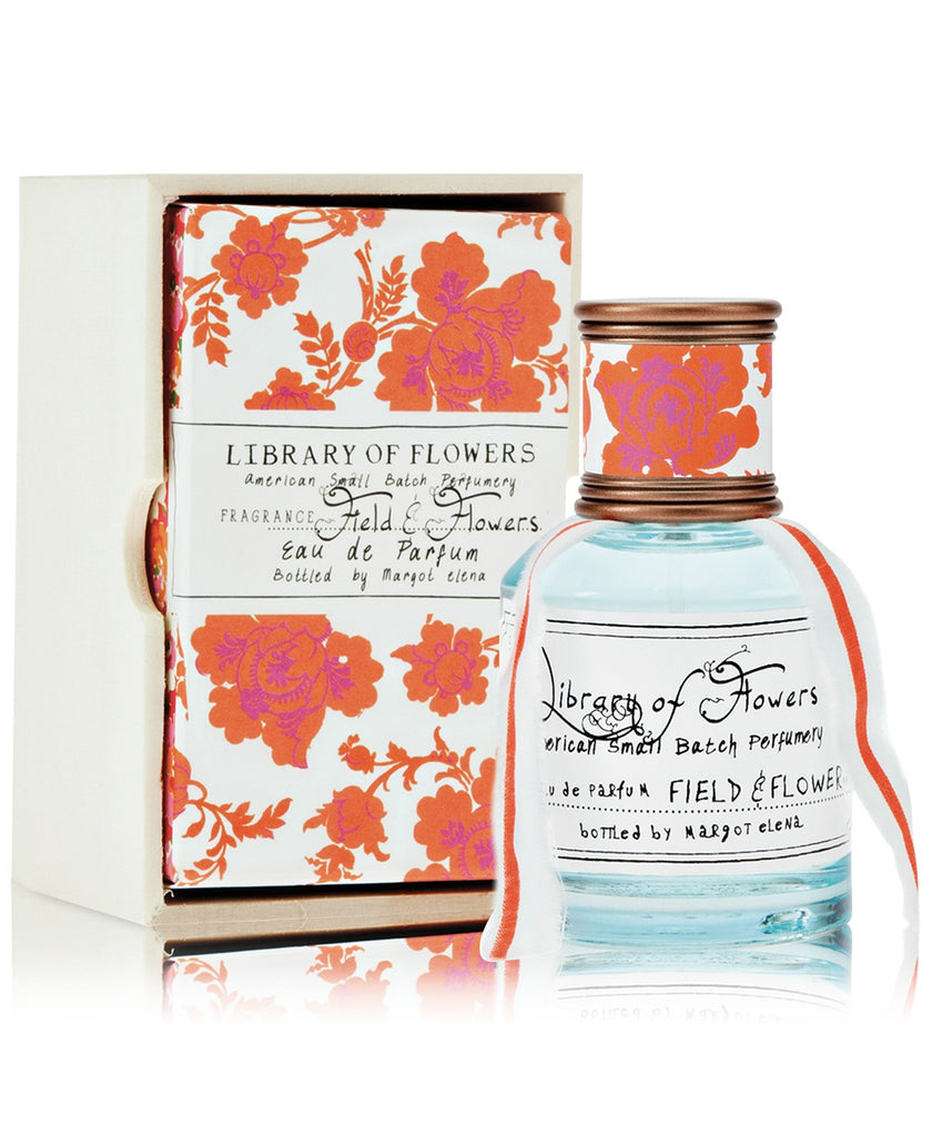 Library of Flowers -- Field & Flowers Perfume