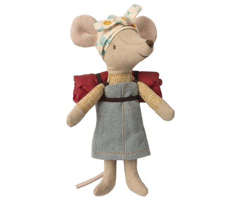 Maileg Hiker Mouse Girl