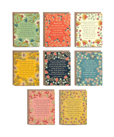 8 Hymn Greeting Cards -- Set #3