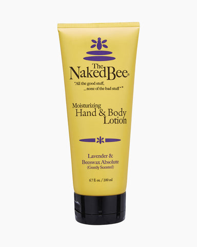 Naked Bee Moisturizing Hand and Body Lotion -- Lavender & Beeswax Absolute
