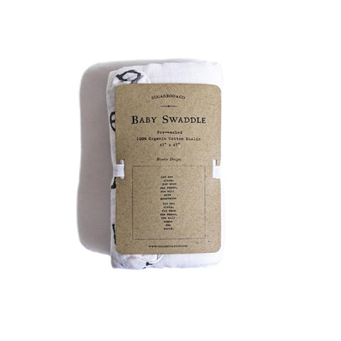 Sugarboo Baby Swaddle -- Let Her Sleep