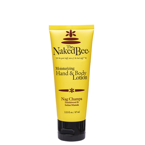 Naked Bee Moisturizing Hand and Body Lotion -- Nag Champa