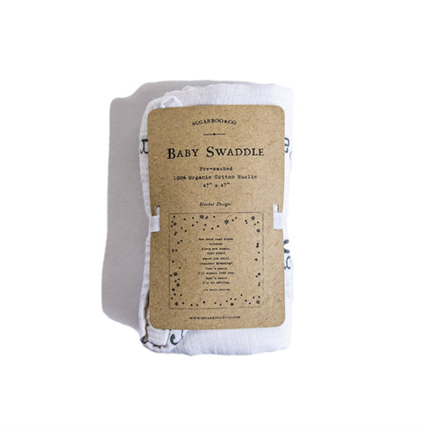 Sugarboo Baby Swaddle -- Peter Pan
