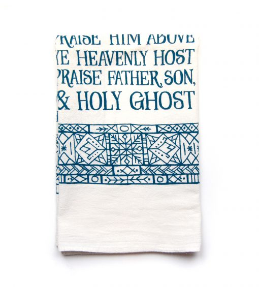 Doxology Tea Towel