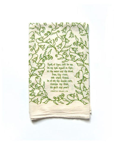 Rock of Ages Tea Towel
