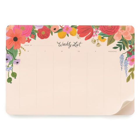 Rifle Garden Party Weekly Desk Pad