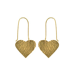 Just Trade Heart Earrings