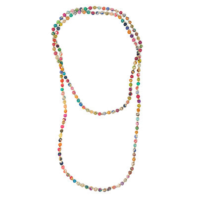 World Finds Kantha Signature Strand Necklace