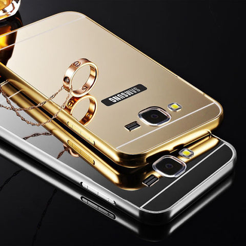 Luxury Acrylic Back Cover Case For Samsung Galaxy Phones