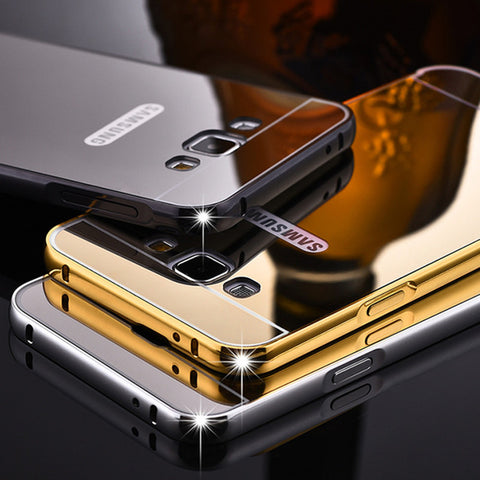 Luxury Metal Bumper Case For Samsung A Phones